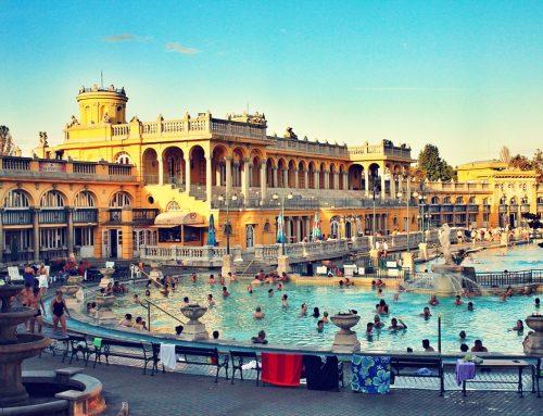 Baños termales tradicionales de Budapest
